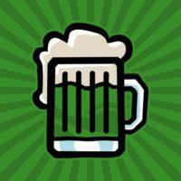 green-irish-beer-mug-vector-icon